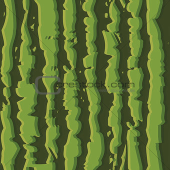 Green watermelon realistic seamless background pattern