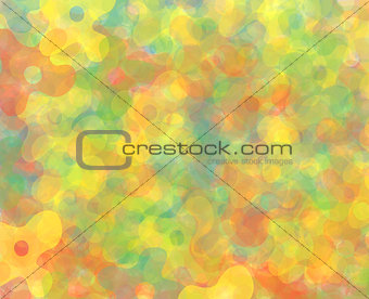 abstract background-flowers