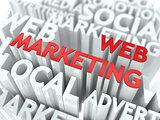 Web Marketing Concept.