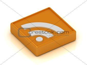 RSS orange symbol