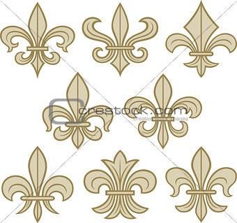 fleur de lis symbols