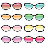 Colorful Set of Sunglasses