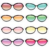 Colorful Set of Sunglasses