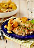 Chicken and Potato Roast