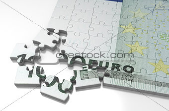 Incomplete Euro Puzzle