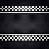 Structured metallic perforated for race sheet gray template