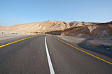 Road in Judean Mountain