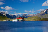 Scenic Lofoten in Norway