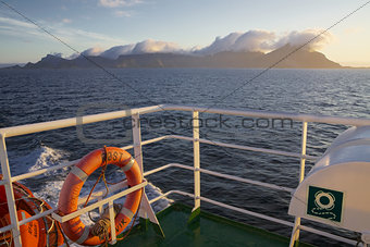 Sailing in Norway