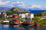 Norwegian village