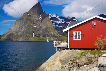Fishing hut in Norway