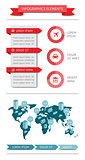 Infographics and web elements. EPS10 vector illustration.