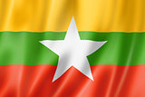 Burma Myanmar flag
