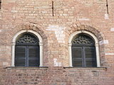 Two windows in the Saint Peter church