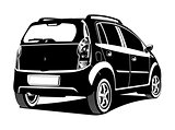 illustration of car