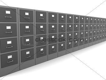 cabinets row