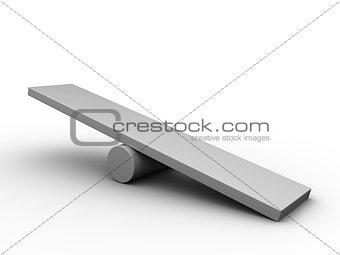 empty scale board