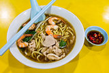 Hokkien Prawn Mee Soup Noodle