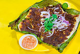 Stingray Fish with Sambal Chili Sauce
