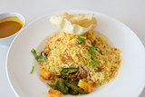 Indian Nasi Briyani Rice Dish