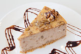 Walnut Cheesecake Slice Macro