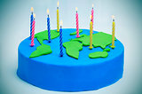 International Mother Earth Day cake