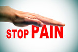 stop pain