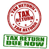 Tax return stamps