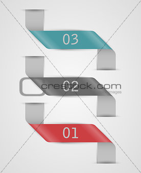 Abstract web elements.