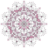 Pastel round pattern