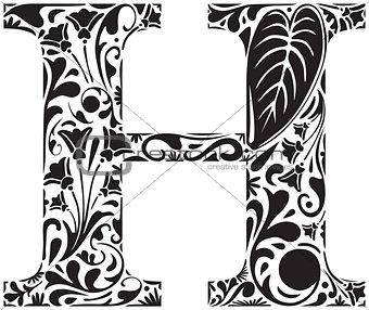 Floral H