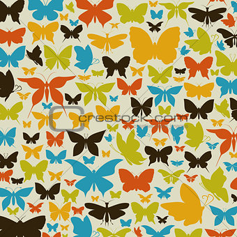 Background the butterfly2