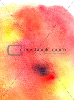 beautiful shades of red with an abstract watercolor background