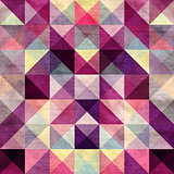 Interesting texture of colored triangles