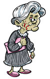 Zombie grandmother