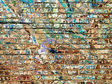 Paint On Brick Wall Background