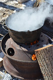 Preparing Maple Syrup