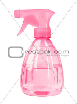Plastic pink sprayer