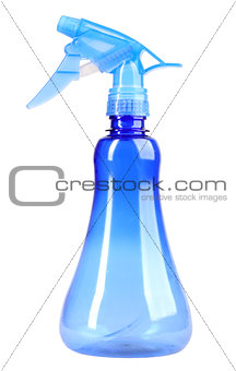 Plastic blue sprayer