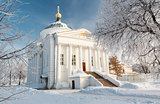 Temple in Yaroslavl. Russia