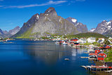 Scenic Norway in summer