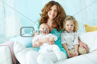 Happy maternity