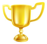 Gold Trophy Illustration