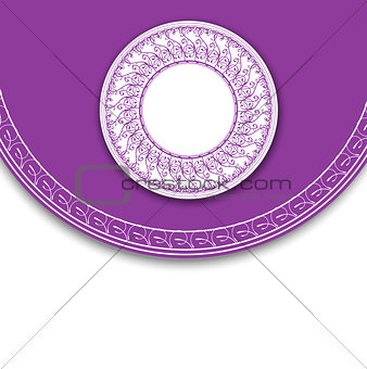 Abstract Elegant Label Background