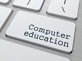 Computer Education Concept.