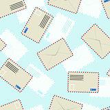 White  envelope, seamless wallpaper