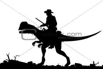 Prehistoric cowboy