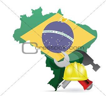 brazil under construction
