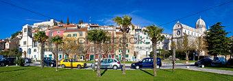 Town of Sibenik colorful panorama