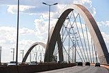 Juscelino Kubitschek bridge in brasilia brazil
